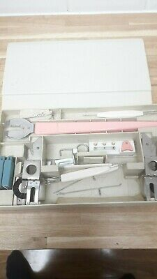 SINGER MAGIC MEMORY KE 1200 KNITTING MACHINE ACCESSORIES in ORIGINAL BOX