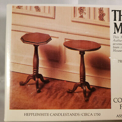 5pcs NEW Vintage Miniature Chafing DishWith Burner by Colonial Craftsmen #1266