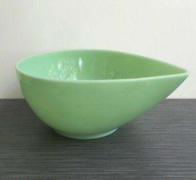 Fire King Jadite / Jadeite / Jade-ite Swedish Modern 3 Qt Mixing Bowl CRACK