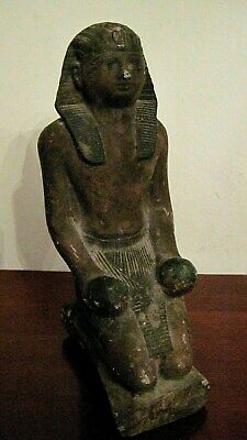 Impressive Antique Egyptian Statue - King Tuthmosis -19Th Century- Made In Egypt