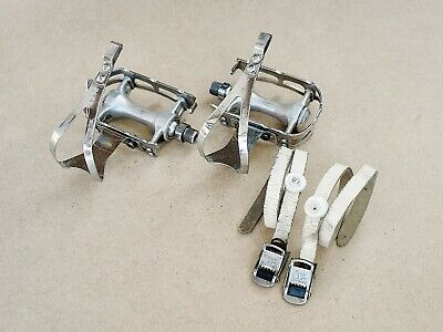 Zeus pedals, toe clips, french thread 14/125