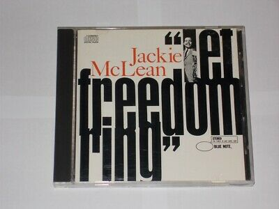 """Jackie McLean """"Let Freedom Ring"""". 4 Track CD Album 1987 Blue Note CDP 7 46527 2."""
