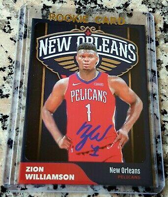 ZION WILLIAMSON 2019 SP #1 Draft Pick Rookie New Orleans Pelicans