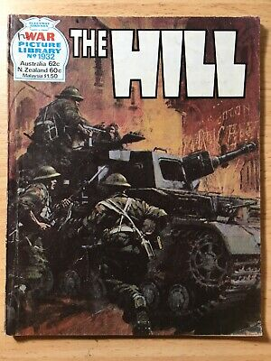 "1982 Fleetway War Picture Library Comic # 1932 ""The Hill"""