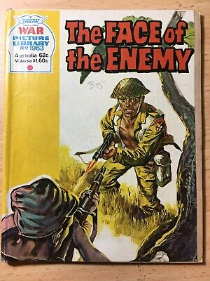 "Fleetway War Picture Library Comic # 1963 ""The Face of the Enemy"" with Aussies!"