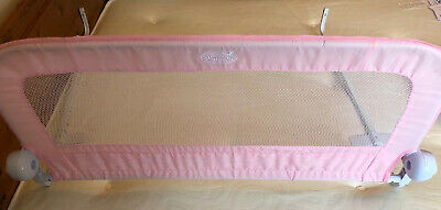 Summer Toddler Childs Pink Girls Bedguard Bed Guard