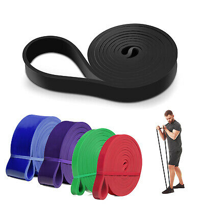 Pull Up Resistance Exercise Bands Loop Band Assisted Heavy Duty Gym Fitness Yoga