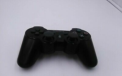 Official Sony Playstation 3 PS3 Dualshock 3 Six Axis Black Controller