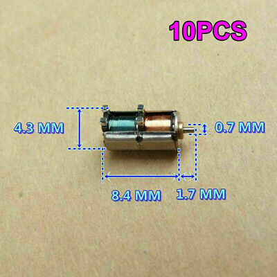10PCS Japan SANYO DC 5V Ultra-Mini  4mm Precision Stepper Motor 2-Phase 4-Wire