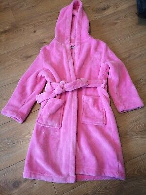 Girls Dressing Gown From Bluezoo At Debenhams Age 6-7 Years