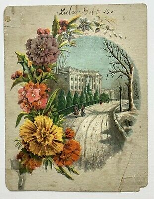 Old Victorian Trade Card A.C. Yates & Co. Popular Clothing House Philadelphia