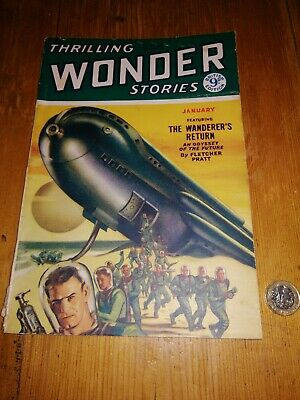 Thrilling Wonder Stories -1950's Science Fiction Comic