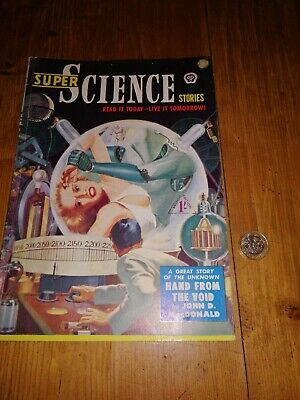 Super Science Stories -1950's Science Fiction Comic
