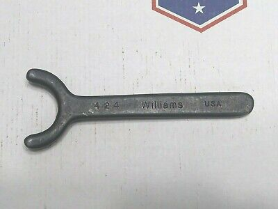 Williams Face Spanner Wrench No. 424