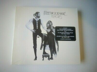 Fleetwood Mac - Rumours 4 CD Deluxe edition NEW AND SEALED 2019