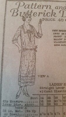 Antique Sewing Pattern #5364 -1918-1922