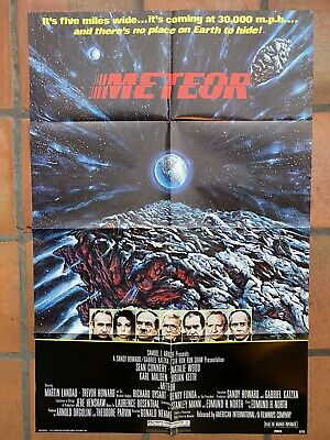 PHOTO MAGNET Movie Poster METEOR 1979 Science Fiction Sean Connery Natilie Wood
