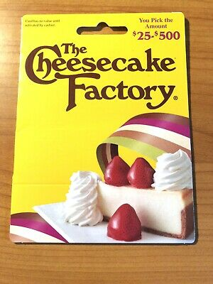 The Cheesecake Factory Gift Card - $50
