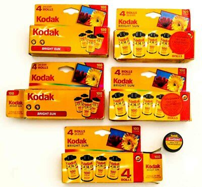 20 ROLLS Kodacolor 100 Gold + Royal 24 Exp 35MM PRINT FILM  Expired 2005 + 2006