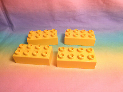 Green Lego Duplo Bricks 2X6X1 4