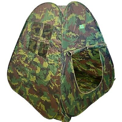 Vokodo Kids Pop Up Play Tent Camouflage Camping Style Fold-able Playhouse TO-25