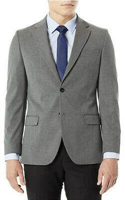 Nautica Men's Bi-Stretch Slim Fit Suit Separate Blazer Grey 38R Gently Used