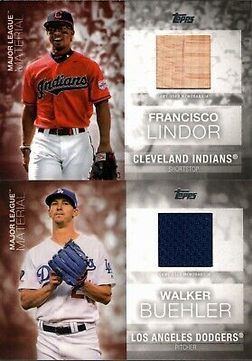 2020 Topps Series 1 Major League Material Jersey Bat Relic Singles - You Pick