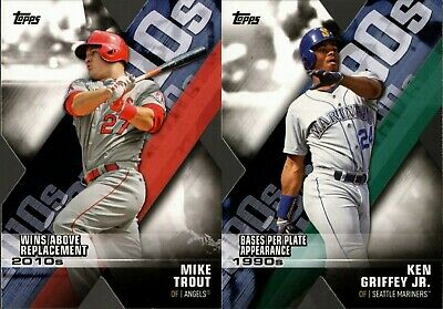 2020 Topps Series 1 Decade Of Dominance Die-Cut Insert Singles  You Pick For Set
