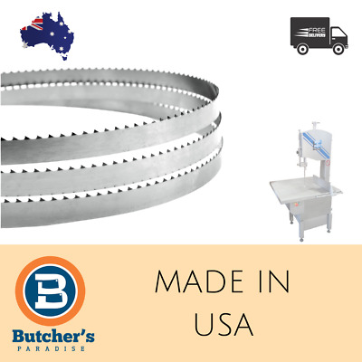 Butcher's Meat Bandsaw Bonesaw All Sizes Cutting Blade 6Pcs