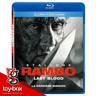 Rambo last blood blu ray dvd
