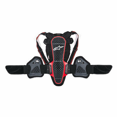 Alpinestars Nucleon KR-3 Smoke / Black / Red Moto Back Protector | All Sizes