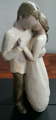 """Willow Tree """"The Promise"""" Figurine 26121 good condition no box"""