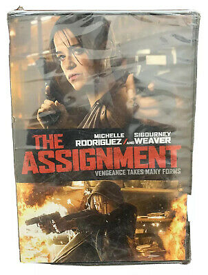 The Assignment, DVD Michelle Rodriguez, Sigourney Weaver 2017New factory sealed