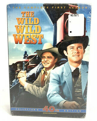 THE WILD WILD WEST SEASON 1 New Sealed 7 DVD Set New factory sealed