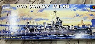 Trumpeter 1//700 05748 USS Quincy CA-39 Static Warship model kit