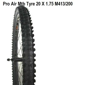 TIGER KIDS BIKE CYCLE BICYCLE BMX TYRE TYRES 20 x 1.95 Off Road Knobbly TG8187OR