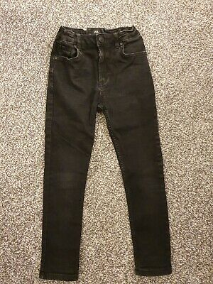 Boys Black Washed Style River Island Jeans Size 8 Years