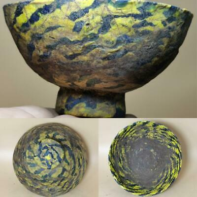 Roman Old Beautiful Mosaic Glass Lovely Unique Bowl   # 127