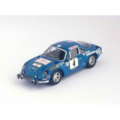 Alpine Renault a110 RAC Rally 1971 Andersson//phillips-Trofeu 1:43 Rruk 23