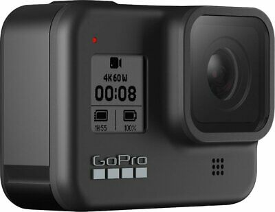 GoPro HERO8 Black Waterproof  4K Action Camera with Touch Screen