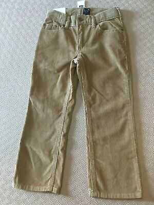 Boys Straight Leg Cord Trousers From Gap Kids Age 5 Years  Bnwt