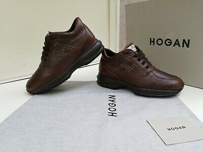 Scarpe Hogan N.37 Originali Interactive Donna Shoes Women Size,Pelle,Marroni