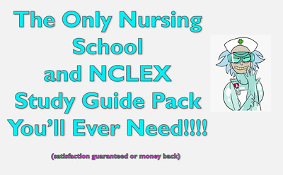 The Only Nursing School and 2020 NCLEX RN/PN  Guide / Test prep you'll ever need