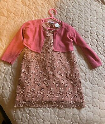 zara girls 2-3 years Outfit set , dress with cardigan