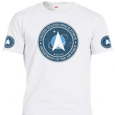 """UNITED STATES SPACE FORCE,USSF,NASA Q Patriot,""""Donald Trump"""" ,T-SHIRT T-1638Wht3"""