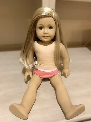 """American Girl Isabelle 2014 Doll of the Year 18 /"""" /& book pink highlights NEW"""