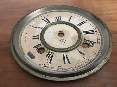 Antique Ansonia Mantel Clock Dial