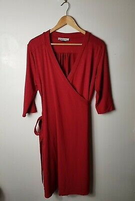 Angel Maternity Wrap Dress Size L