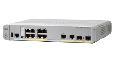 Cisco WS-C2960CX-8TC-L 8-Port Data LAN Base Ethernet Switch