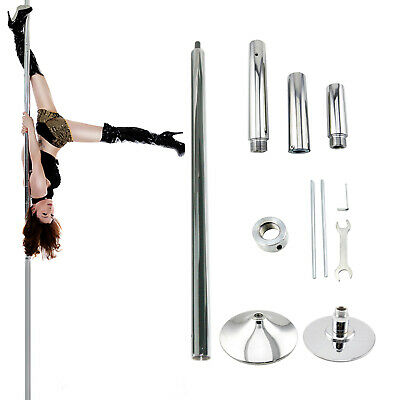 Portable 45mm Stainless Steel Dance Pole Fitness Dancing Spinning Static